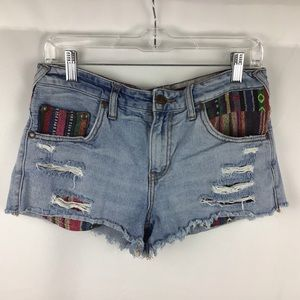 Free people tribal shorts